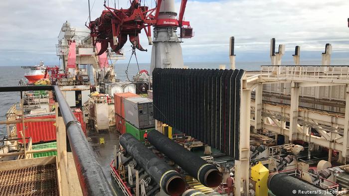 USA/Deutschland Sanktionen gegen Nord Stream 2 (Reuters/S. Jacobsen)