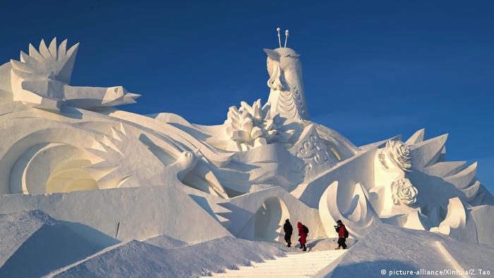 BDTD China Harbin Schneeskulptur Ausstellung