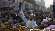 Indien Neu-Delhi Protest gegen Staatsbürgerschaftsgesetz