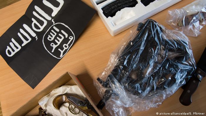 Islamistische Gefährder beschlagnahmte Gegenstände