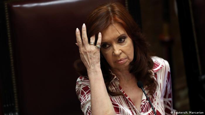 Buenos Aires Nationalkongress Cristina Fernandez de Kirchner