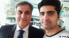 Iran Proteste Pouya Bakhtyari und Vater Manoucher