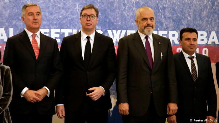 Tirana Westbalkanstaaten Regionaltreffen (Reuters/F. Goga)