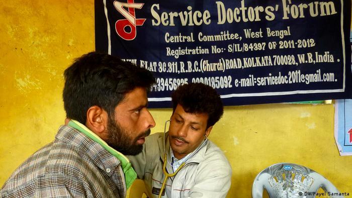 Indien Ländliche Gesundheitsdienste in Westbengalen