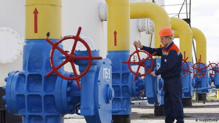 Zawory gazociągowe na Ukrainie