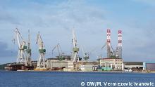 Werft Uljanik in Pula Kroatische Werft Uljanik in Pula Copyright: M. Vermezović Ivanović/DW, Pula, Dezember 2019