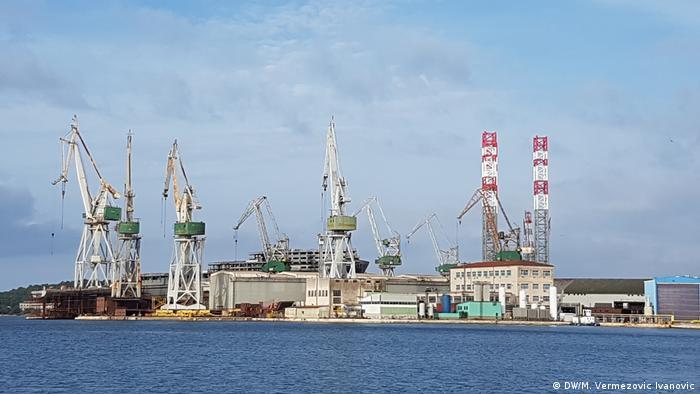 Kroatien Werft Uljanik in Pula