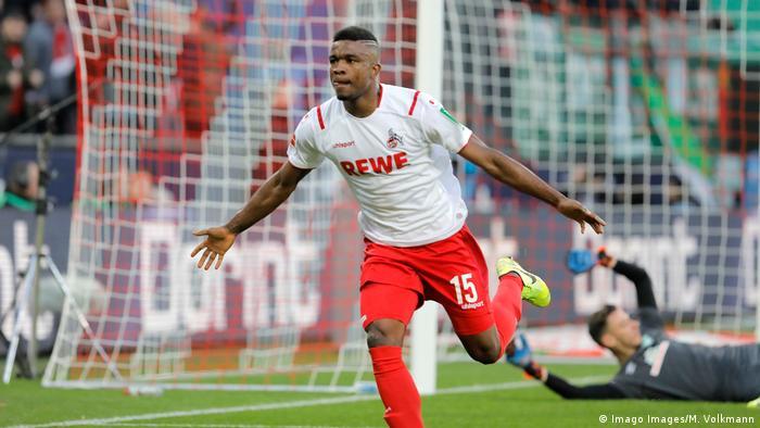Fußball Bundesliga 1.FC Köln v Werder Bremen Torjubel 1:0 (Imago Images/M. Volkmann)