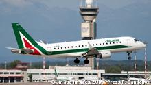 Flugzeug Alitalia