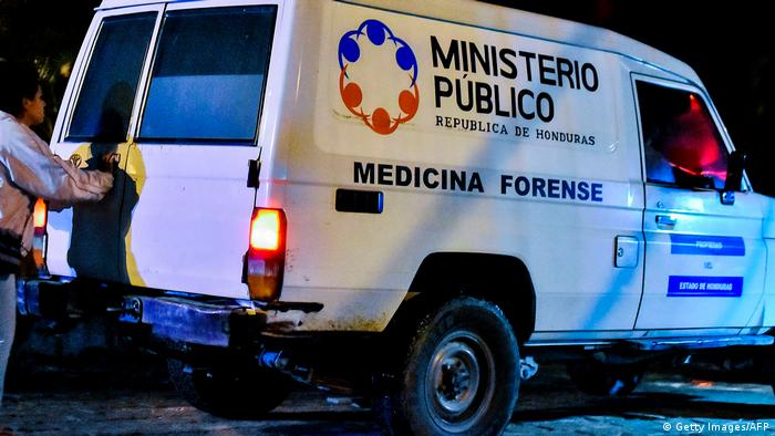 Foto de vehículo del Ministerio Público de Honduras.