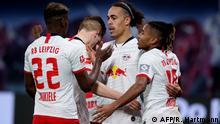 Fußball Bundesliga RB Leipzig vs. FC Augsburg