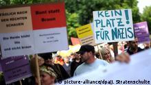 Demo gegen Rechts in Eschede