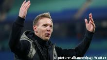 Leipzigs Trainer Julian Nagelsmann