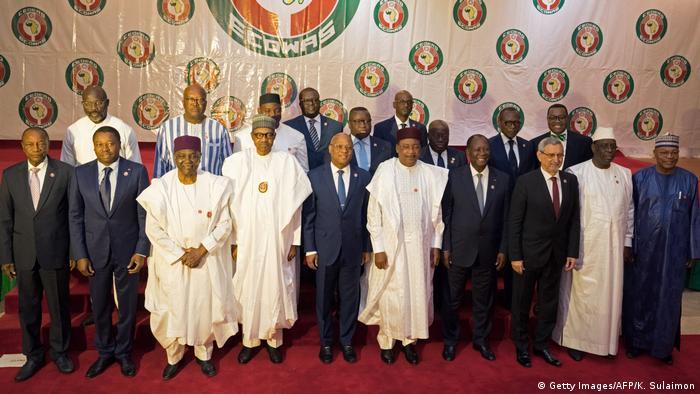ECOWAS leaders in Abuja