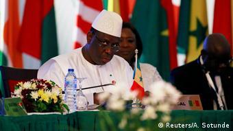Nigeria Abuja | ECOWAS-Treffen | Macky Sall, Präsident Senegal