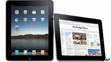 In this product image released by Apple Inc., the Apple iPad is shown. (AP Photo/Apple Inc.) NO SALES
