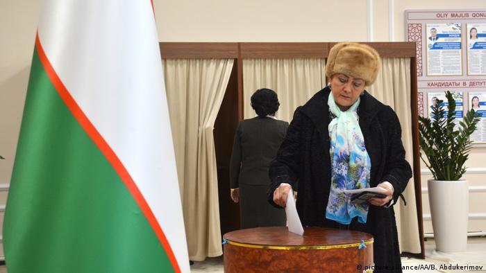 Під час парламентських виборів в Узбекистані, 22 грудня