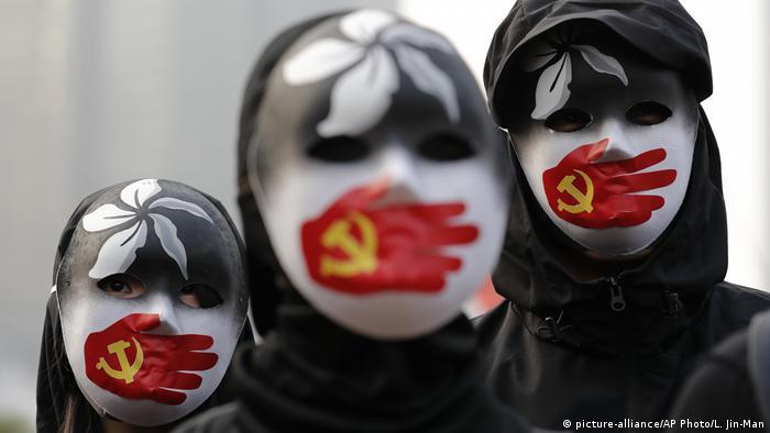 Protes solidaritas untuk Uighur di Hongkong