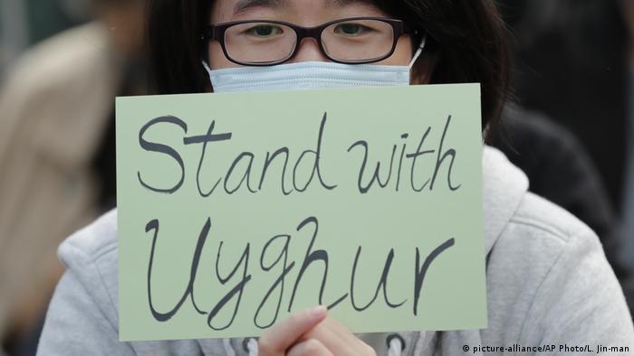 Hongkong Proteste Solidarität Uiguren
