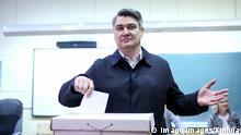 Kroatien Präsidentschaftswahlen