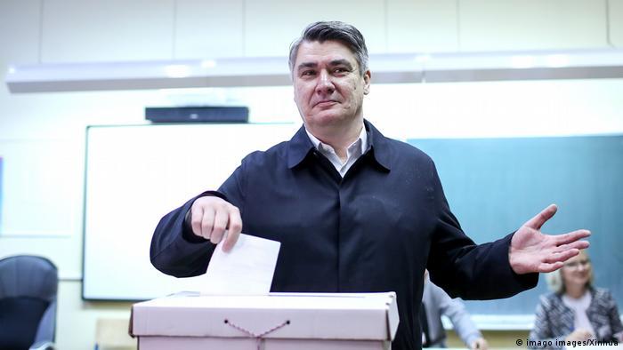 В першому турі виборів, за даними екзитполів, перемагає Зоран Міланович