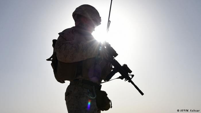 Foto de soldado estadounidense.