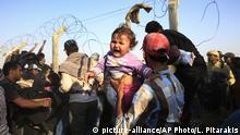 Türkei Flüchtlinge aus Syrien