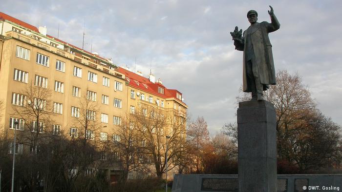 Памятник маршалу Ивану Коневу в Праге