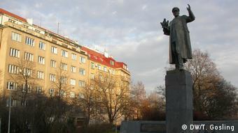 Памятник советскому маршалу Ивану Коневу в Праге
