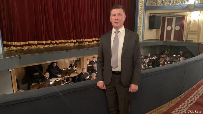 Sarajevo Philharmonie - Direktor der Sarajevo Philharmonie Samir Lokvančić