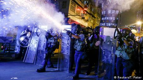 Χονγκ Κονγκ: η μαρτυρία ενός αστυνομικού