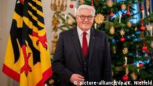 !!! SPERRFRIST BEACHTEN !!! - Berlin | Fototermin zur Weihnachtsansprache des Bundespräsidenten Frank-Walter Steinmeier