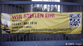 Poziv za zapošljavanje u Njemačkoj pošti