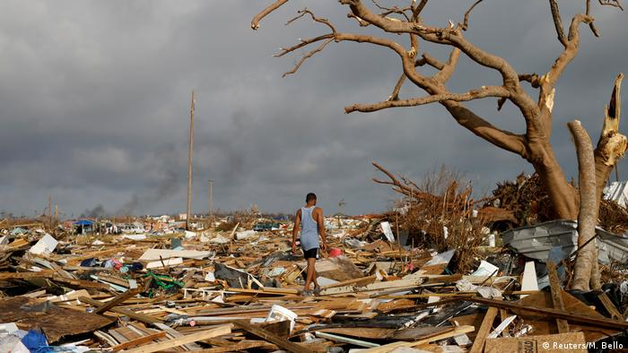 Bahamas nach Hurrikan Dorian auf den Abaco Inseln in Marsh Harbour (Reuters/M. Bello)