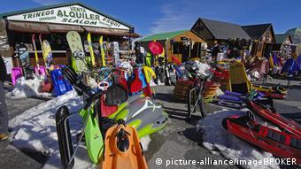 Sledge Rental in the Sierra Nevada Ski Resort
