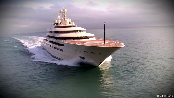 Ogromne jachty bogaczy