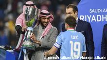 Saudi-Arabien Fußball | Senad Lulic, Lazio Rom & Prinz Abdulaziz bin Turki al-Faisal