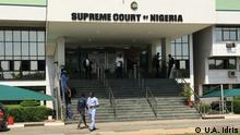 Gebäude des obersten Gerichtshofs Nigerias in Abuja