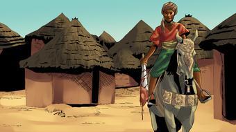 Le don unique pour le commandement d'Amina est souvent mis en avant