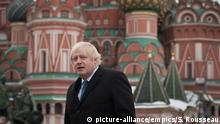 Russland Boris Johnson in Moskau