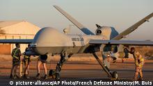 Niger Bewaffnete Drohne in Niamey