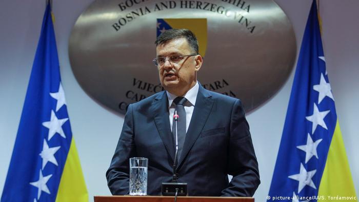 Новим прем'єр-міністром Боснії став боснійський серб Зоран Тегельтія