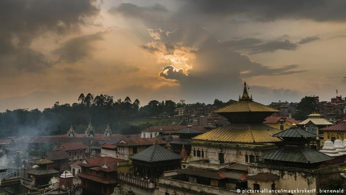 Skyline of Nepali capital Kathmandu