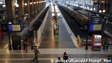 Frankreich Massive Störungen im öffentlichen Verkehr durch andauernde Streiks
