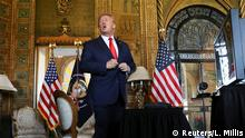USA Präsident Trump im Mar-a-Lago resort in Florida
