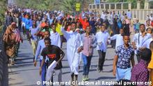Ethiopian Muslims protest after several mosques burned. In: Jijiga, Ethiopia am 24.12.2019 Rights: Mohammed Olad Media and Communications Advisor to President of the Somali Regional government