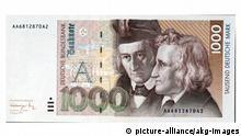 Bundesrepublik Deutschland l Geldschein - Banknote 1000 DM/ 1991
