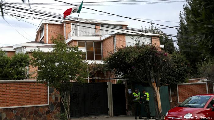 La Paz'daki Meksika Büyükelçiliği