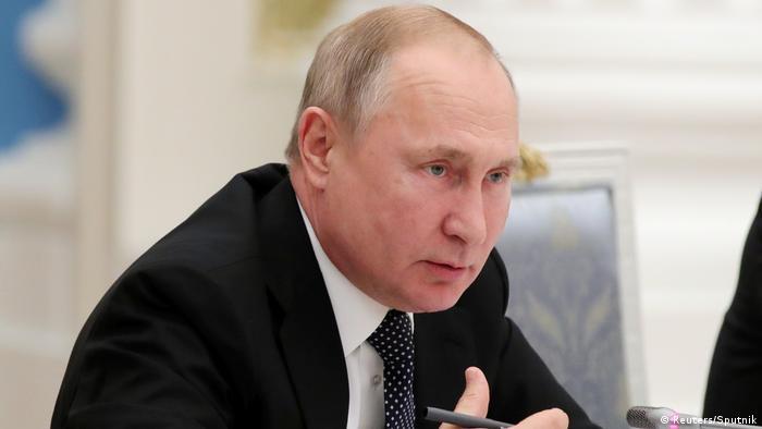 Vladimir Putin (Reuters/Sputnik)