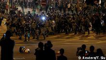 Hongkong Anti-Regierung Protest
